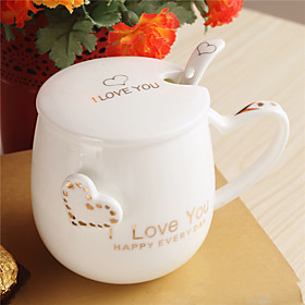 1 PC Random Color Kitchen Supplies New Ideas Heart-shaped Cups of Coffee Cup 5438301