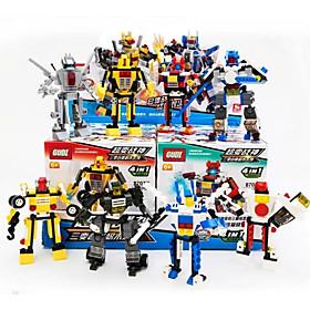 Action Figures  Stuffed Animals / Building Blocks For Gift  Building Blocks Model  Building ToyTank / Warship / Warrior / Fighter / 578PCS 5445982