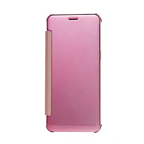 For Xiaomi Redmi Note 3 Case Electroplating Mirror View Clear Transparent Flip Stand Cover Case For Xiaomi Redmi Note 2 millet 5 Case