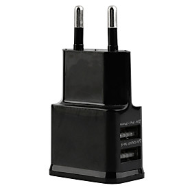 Review 2 Doble USB-porter Lader Adapter EU Plug for Samsung og iPhone Smartphone-enhet Before Too Late