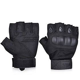Tactical Gloves Military Gloves Shooting Gloves Fingerless Half-finger Riding Hunting Cycling Gloves 5390557