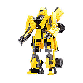 Action Figures  Stuffed Animals / Building Blocks For Gift  Building Blocks Model  Building Toy Warrior / Car / Robot ABS5 to 7 Years / 5443279