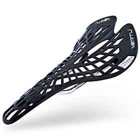 Bike Saddle / Bike Seat Lightweight Breathable Comfort PU Leather Cycling Road Bike Mountain Bike MTB Fixed Gear Bike Black