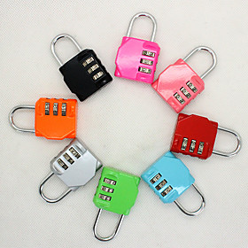 Luggage Lock / Coded Lock 3 Digit Portable / Luggage Accessory / Anti-theft For Luggage 1 pc