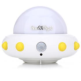 YouOKLight DC5V 1W Flying Saucer UFO Shaped LED Night Light Motion Sensor Lamp for Kids Nursery Bedroom 5451190