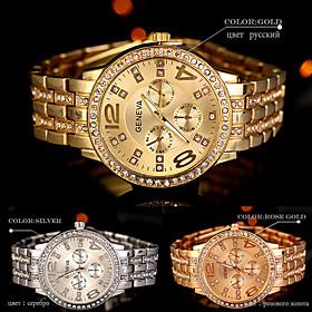 New hot Arrival Quartz Gold Women Men Watch Luxury Diamond Stainless Steel Ladies Male Geneva Wristwatch Montre Homme Femme 5433352