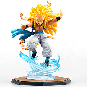 Figures Anime Action Inspiré par Dragon Ball Cosplay Anime Accessoires de Cosplay figure Jaune PVC 5401127