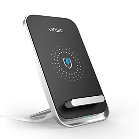 Vinsic Dock Charger / Wireless Charger USB Charger Universal Wireless Charger / Fast Charge 1 A DC 5V for