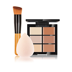 6 Concealer/ContourPowder Puff/Beauty Blender / Makeup Brushes Wet Face Concealer China Others 5407330