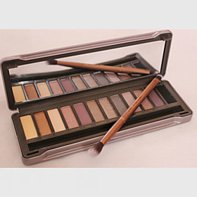 1Pcs The 2 Generation Of Genuine Original 12 Color Eyeshadow Eyeshadow Nude Make-up Earth Color Matte Pearl Color 4756131
