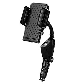Phone Holder Stand Mount Car Adjustable Stand / Stand with Adapter Plastic for Mobile Phone 5449149