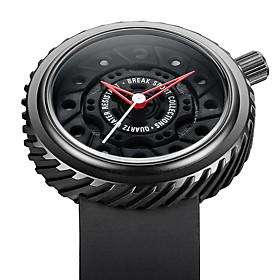 BREAK M728 Top Luxury Men Racing Motorcyle Sport Watches Rubber Strap Casual Fashion Passion Waterproof Geek Creative Gift Wristwatch 5387602
