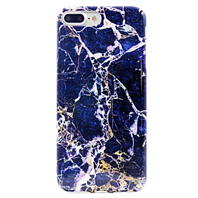 For iPhone 7 Case iPhone 7 Plus Case iPhone 6 Case Case Cover Pattern Back Cover Case Marble Soft TPU for AppleiPhone 7 Plus iPhone 7 5458176