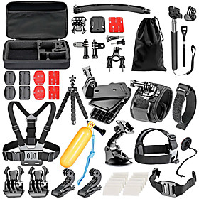 Accessory Kit For Gopro For Action Camera Gopro 6 Gopro 5 Xiaomi Camera Gopro 4 Gopro 3 Gopro 2 Gopro 3 Gopro 1 Sports DV SJCAM Skiing 4501115