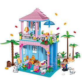 Costruzioni / Casa per bambole per il regalo Costruzioni Modellino e gioco di costruzione Casa / Architettura ABSDa 5 a 7 anni / Da 8 a 5445295