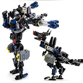 Action Figures  Stuffed Animals / Building Blocks For Gift  Building Blocks Model  Building Toy Dinosaur / Warrior / Robot ABS5 to 7 5421519