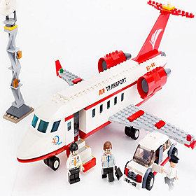 Action Figures  Stuffed Animals / Building Blocks For Gift  Building Blocks Model  Building Toy Aircraft / Car ABS5 to 7 Years / 8 to 334PCS 5421723