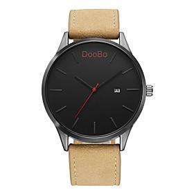 DOOBO Fashion Casual Mens Watches Top Brand Luxury Leather Business Quartz-Watch Men Wristwatch Relogio Masculino 5433354