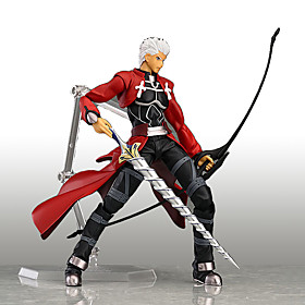 Figures Anime Action Inspiré par Cosplay Cosplay Anime Accessoires de Cosplay figure Rouge PVC 5401125