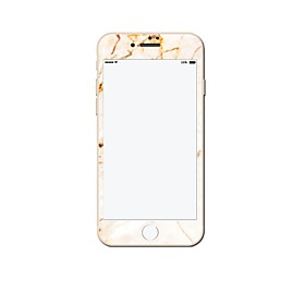 Marble Style Tempered Glass Film Front Screen Protector For Apple iPhone 7 plus 5387664