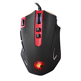 Z-7300 Professional Wired Gaming Mouse 7 Button 4000 DPI LED Optical USB Gamer Computer Mouse Mice Cable Mouse