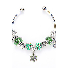Europe and United States DIY Bracelet Open Crystal Bracelet Fashion Crystal Glass Beads Bracelet Jewelry Wholesale Sales 5381725