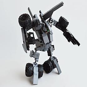 Action Figures  Stuffed Animals / Building Blocks For Gift  Building Blocks Model  Building Toy Tank / Warrior / Fighter / Robot ABS5 193PCS 5445980