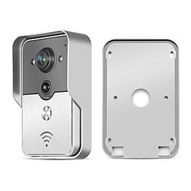 KONX Smart WiFi Video Doorbell for Smartphones  Tablets, Wireless Video Doorphone, IP Wi-Fi Camera