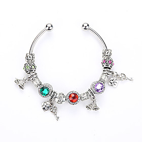 Europe and United States DIY Bracelet Open Crystal Bracelet Fashion Crystal Glass Beads Bracelet Jewelry Wholesale Sales 5381720