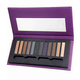 12PCS/SETS Eyeshadow Palette Eyeshadow palette Powder NormalDaily Makeup Halloween Makeup Party Makeup Fairy Makeup Cateye Makeup Smokey 5493472