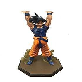 Dragon Ball Son Goku Spirit Bomb Anime Action Figure Model Toy 4825389