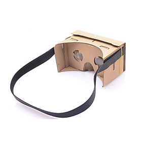 NEJE DIY Google Cardboard Virtual Reality 3D Glasses Headband with NFC for 4-7 Inch Cellphone 1837180