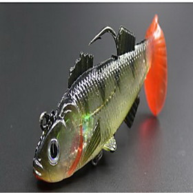 1 pcs Hard Bait Fishing Lures Hard Bait Random Colors Hard Plastic Sea Fishing 5482050