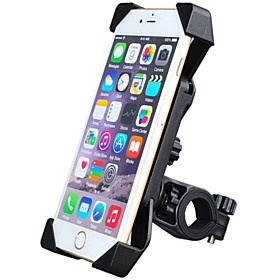 Phone Holder Stand Mount Bike / Motorcycle / Outdoor Handlebar Adjustable Stand Plastic for Mobile Phone 3641444
