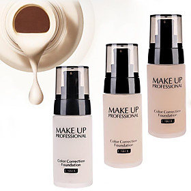 LaiKou Pro Whitening Moisturizer Concealer Contour Waterproof Color Correction Finish Liquid Foundation BB Cream 5477469
