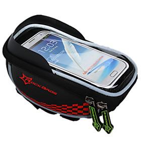 Bolsa para BicicletaBolsa para ManillarImpermeable Cremallera a prueba de agua Transpirable Móvil/Iphone A Prueba de Golpes Listo para 5483657