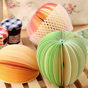 Cute Sticky Notes Post It Creative DIY Fruit Memo Pads Kawaii Stickers Paper Korean Stationery 4804061