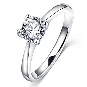 Women's Ring - Silver Ring For Daily / Casual