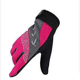 Gloves Sports Gloves Unisex Cycling Gloves Spring Autumn/Fall Winter Bike Gloves Shockproof Breathable Wearable Quick DryFull-finger 5492295