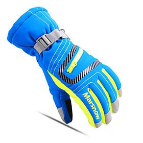 Ski Gloves Full-finger Gloves Unisex Activity/ Sports Gloves Keep Warm Breathable Ski  Snowboard Leisure Sports CottonWinter Gloves Ski 5492374