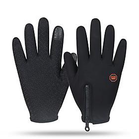 Gloves Sports Gloves Unisex Cycling Gloves Winter Bike GlovesKeep Warm / Anti-skidding / Windproof / Snowproof / Wearable / Fleece Lining 5494431