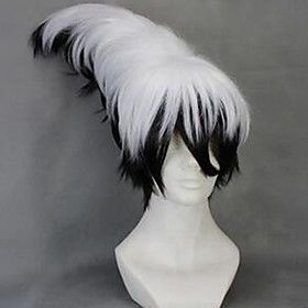 Nurarihyon no Mago Nura Rikuo Cosplay BlackWhite Wig  New Fashion Party Wig Costume Cosplay Wigs 5474779