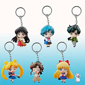 Sailor Moon Sailor Moon PVC 5cm Anime Action Figures Model Toys Doll Toy 1set 5492083