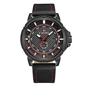 NAVIFORCE Brand Men's Luxury Outdoor Sport Men Watch 30m Waterproof Week/Date Display Men's Wristwatch 5520909