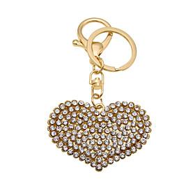 Creative personality love diamond key buckle 5532261