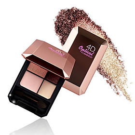 Professional 4 Colors Combination Eyeshadow Palette Glamorous Matte Smokey eyeShadow Makeup Kit 5514414