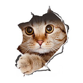 Wall Stickers Wall Decals Style Creative Cat PVC Wall Stickers 5505826