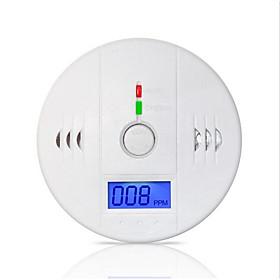 85dB Warning High Sensitive LCD Photoelectric Independent CO Gas Sensor Carbon Monoxide Poisoning Alarm Detector 5530056