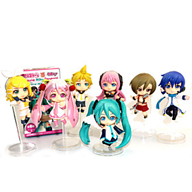 Vocaloid Hatsune Miku PVC 9.5 Anime Action Figures Model Toys Doll Toy (7PCS) 5525066