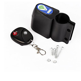 Bicycle Vibration Alarm Cycling Security Lock Remote Control Vibration Alarm Anti-theft Professional Bike Lock 5530066